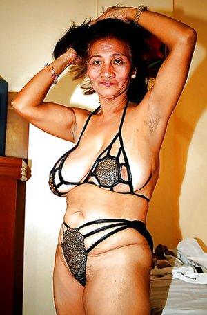 Old Asian Granny Tits